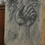 kresba ruka