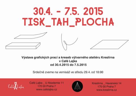 Výstava v Café Lajka od 30.4. do 7.5.